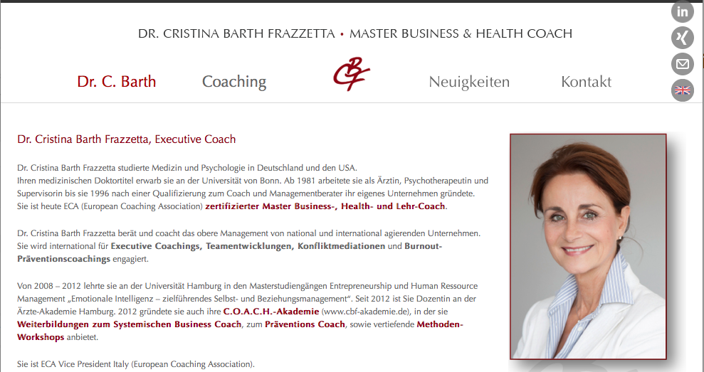 CBF Personal Business Coach