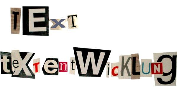 Text für das Internet – Textentwicklung