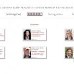 Webdesign für die CBF-Coach-Akademie