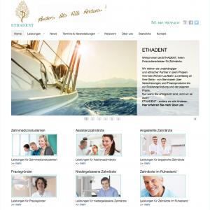 ETHADENT – Finanzdienstleistungen für Zahnärzte