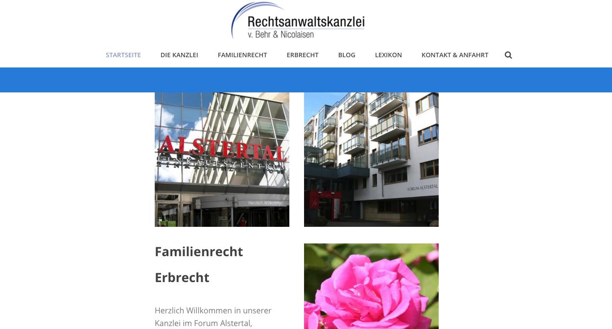 Website Relaunch Kanzlei am Markt