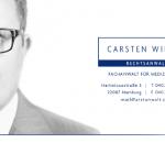 Netzwerkpartner Carsten Wiedey, Anwalt für Medizinrecht