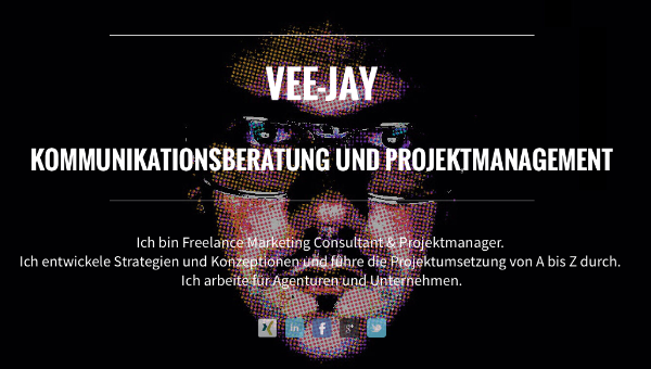 VEE-JAY Vedran Jurincic, Digital Marketing Consultant, Kommunikationsberatung, Projektmanagement