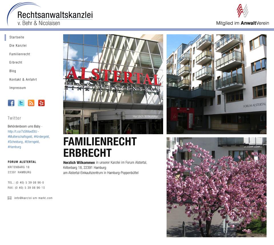 Anwaltskanzlei von Behr & Nicolaisen
