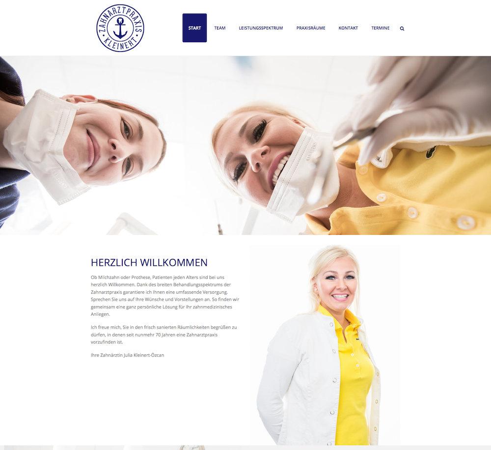 webdeign-zahnarzt-ohlsdorf-kleinert-portpost