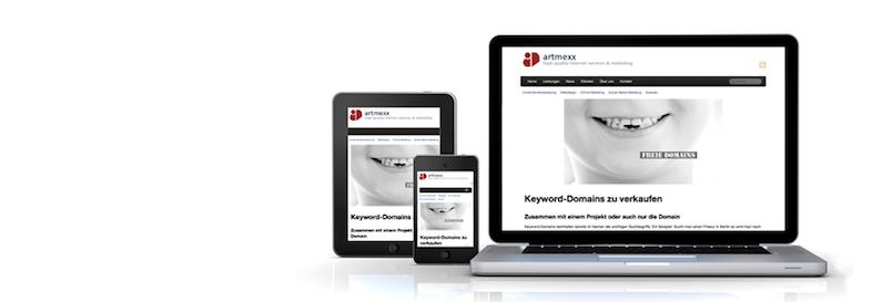 Responsive Website Design von CentraWeb aus Hamburg