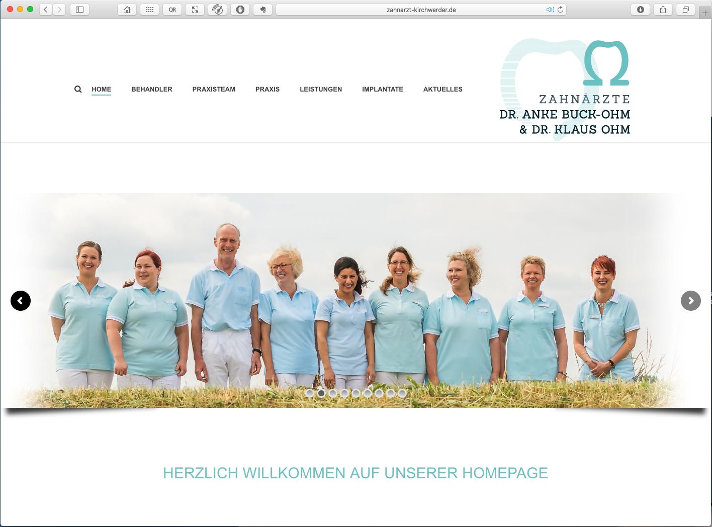 webdesign-zahnarzt-kirchwerder-buck-ohm