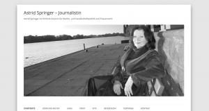 Journalistin Astrid Springer