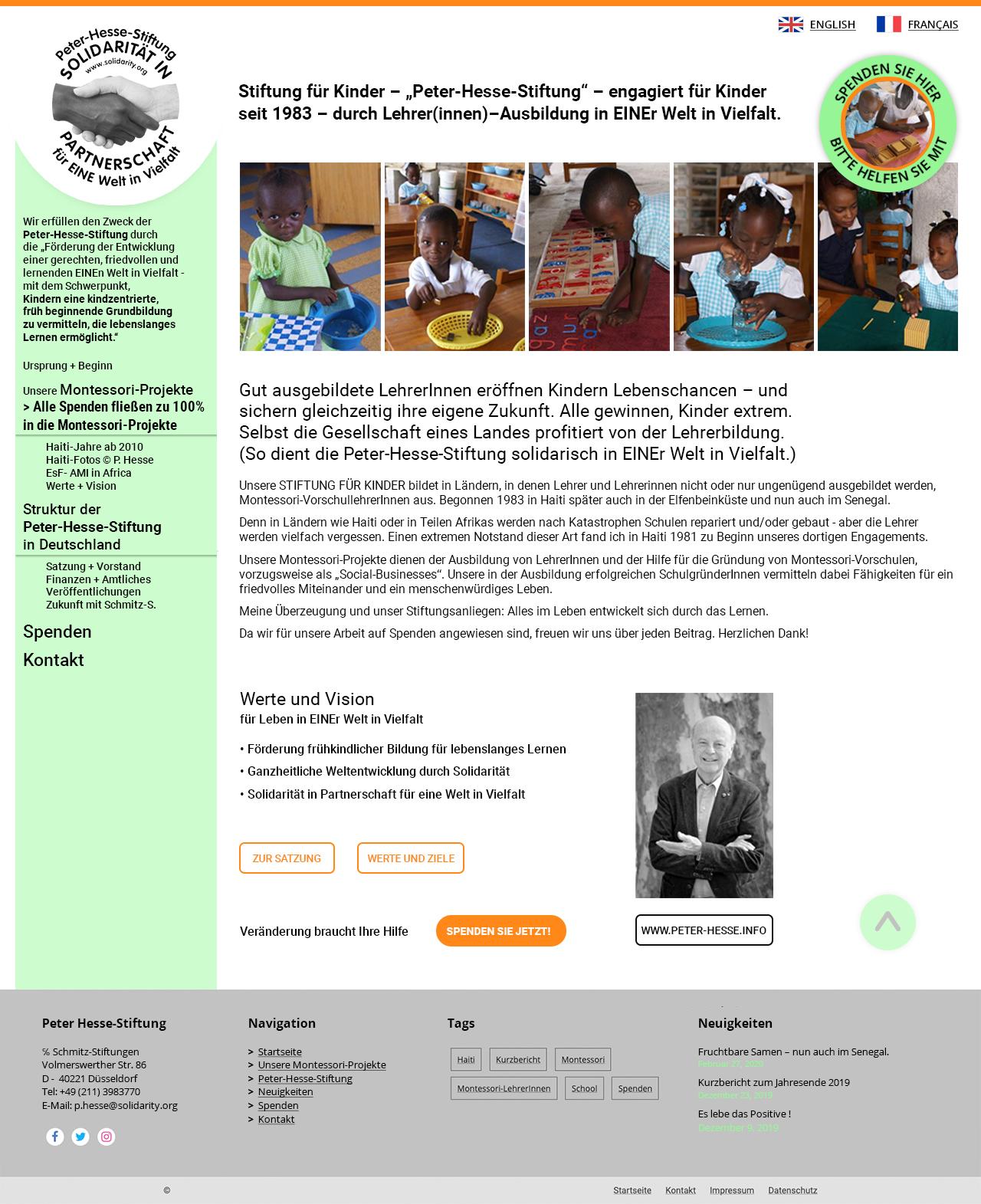 Peter-Hesse-Stiftung für Kinder