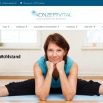 CentraWeb Hamburg Harburg Referenz Webdesign - Yoga und Ernährungsberatung in Lüneburg