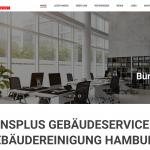 Webdesign Hamburg Harburg für die Gebäudereinigung Einsplus